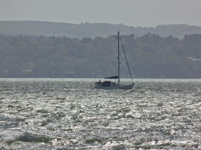 boat off Isle of Wight #silentsunday #mysundayphoto