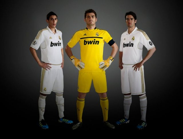 Real Madrid Jersey 2012