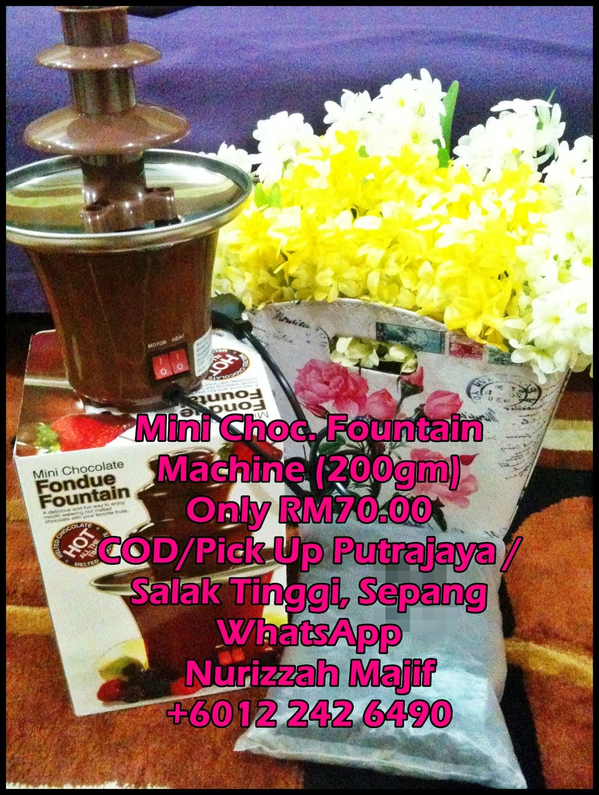 [BELI MESIN MINI CHOC. FOUNTAIN]
