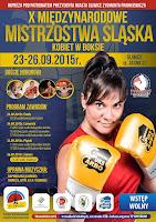 """Kinga Szlachcic, Adriana """"Ruda"""" Marczewska, AIBA, PZB, Śląsk, Gliwice, Mistrzostwa, Boks, Boks kobiet,"""