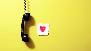 Calling My Love Pink Heart HD Wallpaper