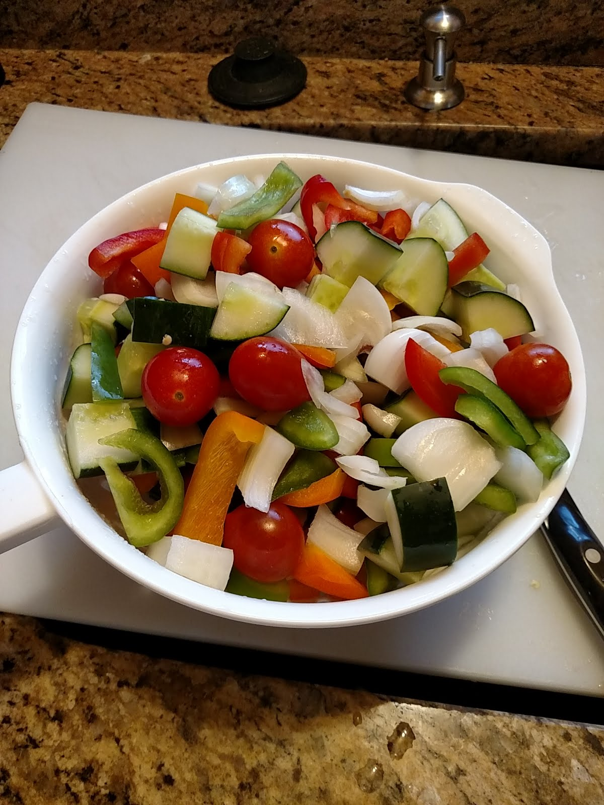Sweet and Sour Pasta Salad | My Brain Echo - My Project Blog