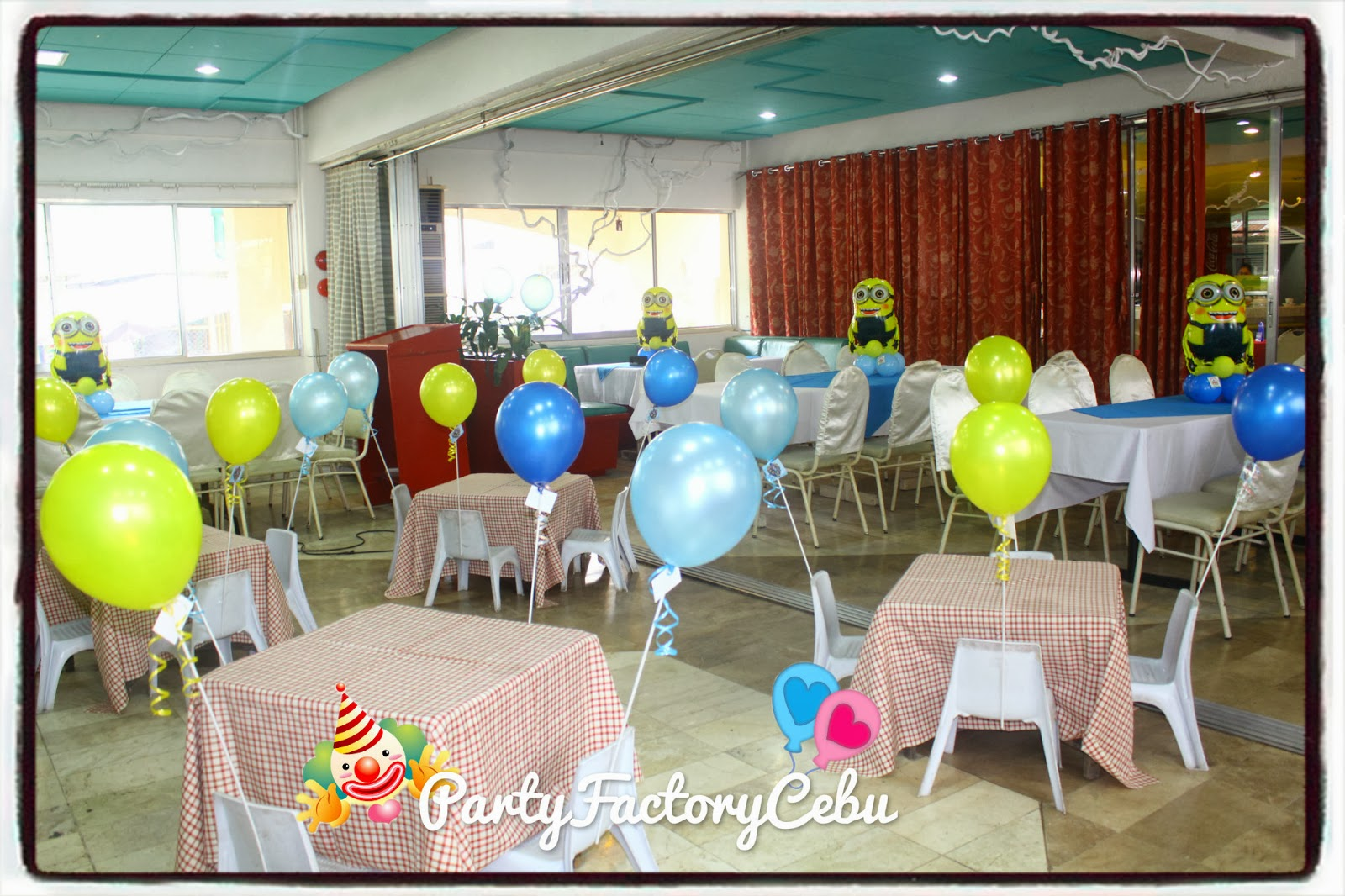 Welcome to partyfactory cebu jayden matthan 1st birthday bash for Balloon decoration for birthday party philippines