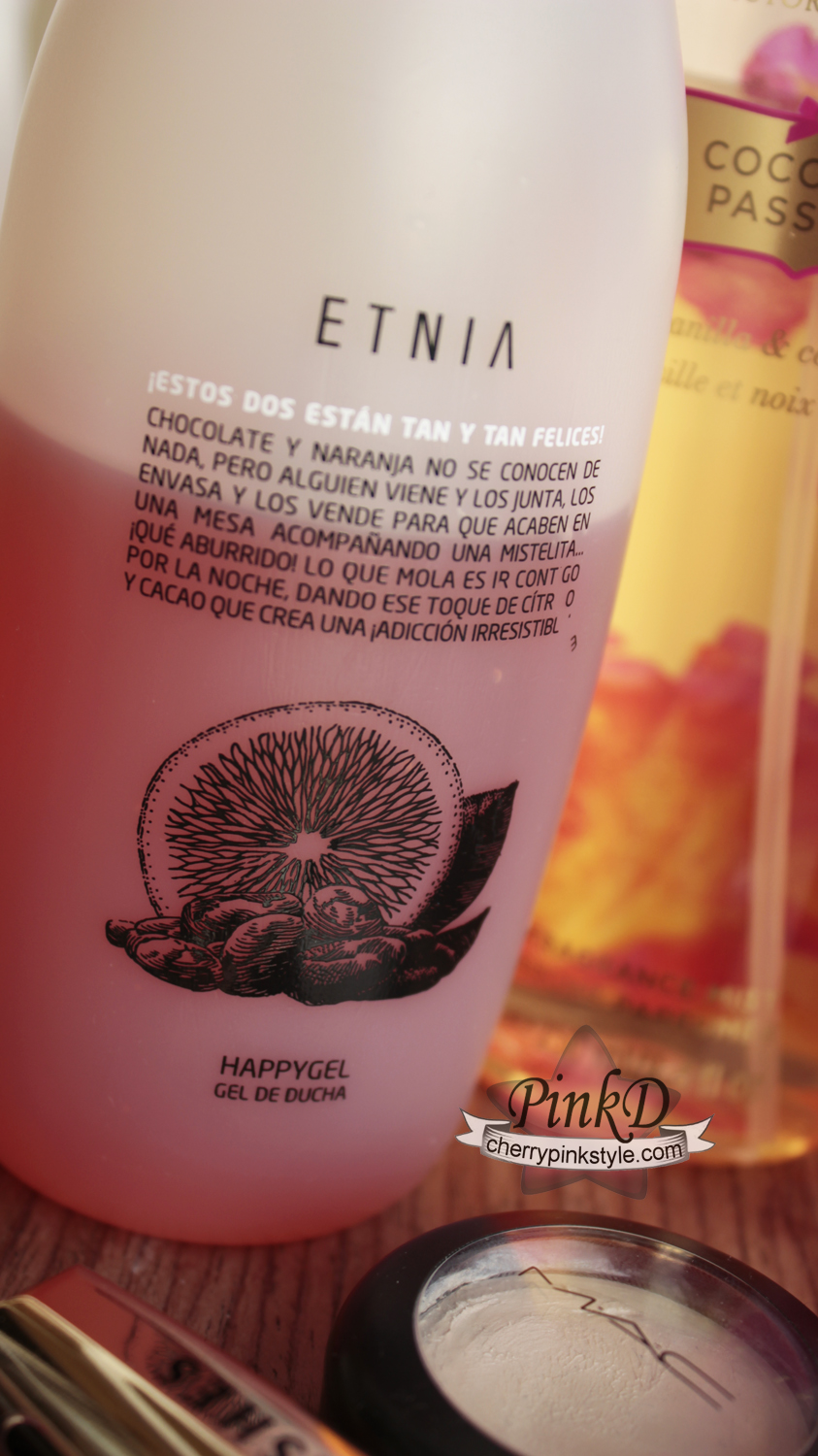 shower gel orange & chocolate ETNIA