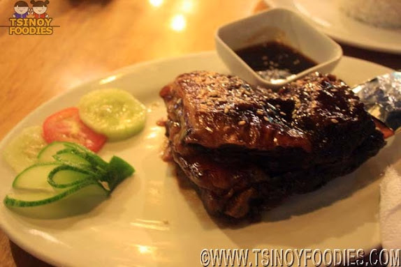 sizzling spare ribs