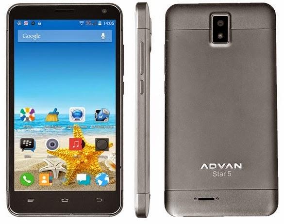 Advan Star S5M Smartphone Android Murah Rp 1 Jutaan