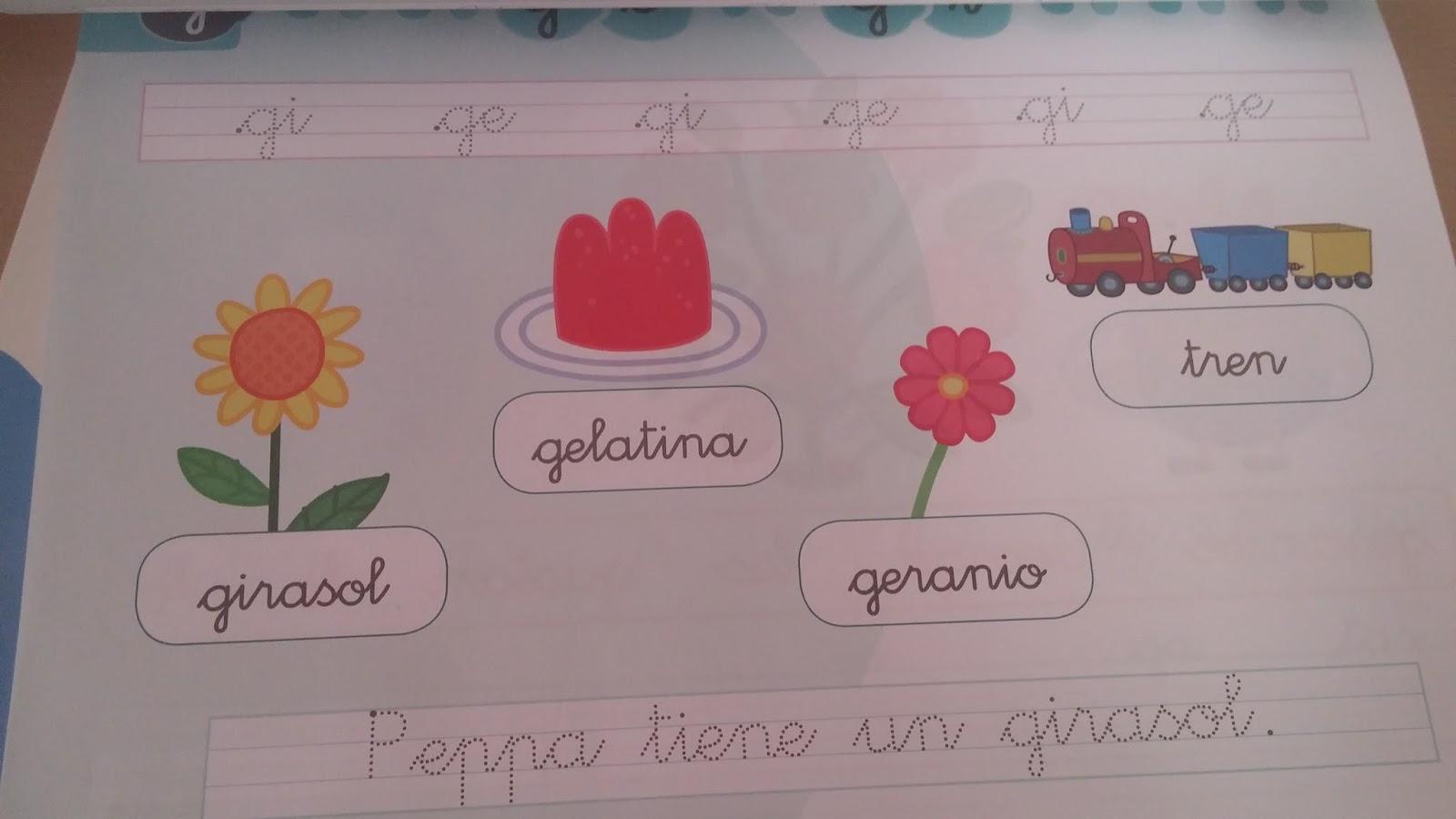 Mis Letras con Peppa , es un cuadernillo para niños de 4 años, les