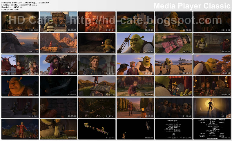 Shrek The Third 2007 video thumbnails