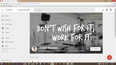 Google Plus New Interface