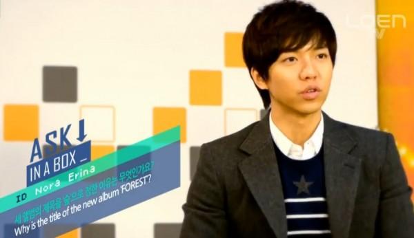 Lee Seunggi Tanya Jawab Dengan Fans