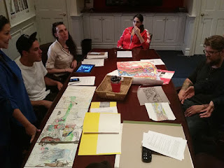 Hackensack muralists meeting