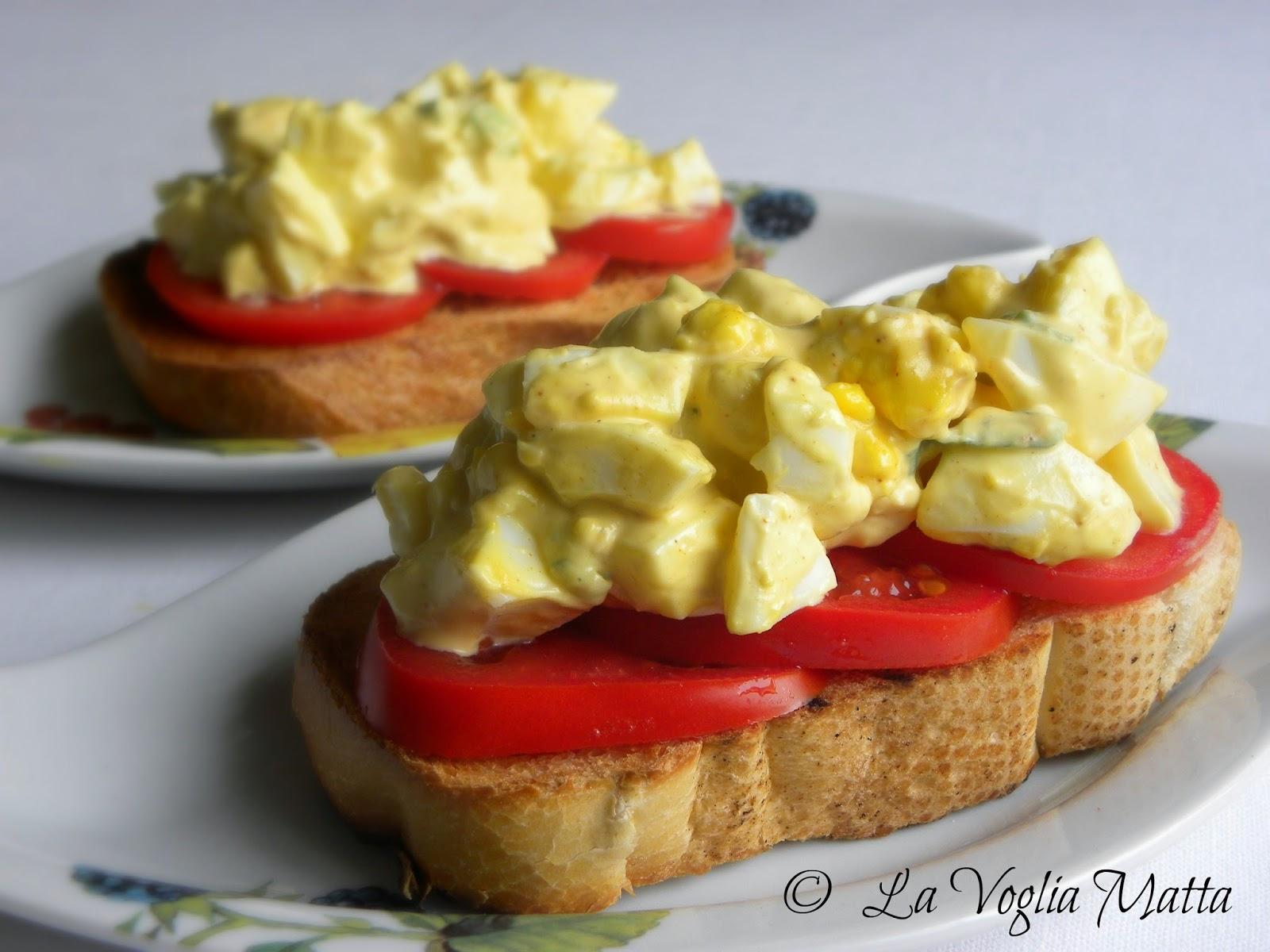 ricetta insalata di uova sode con sedano e cipollotto
