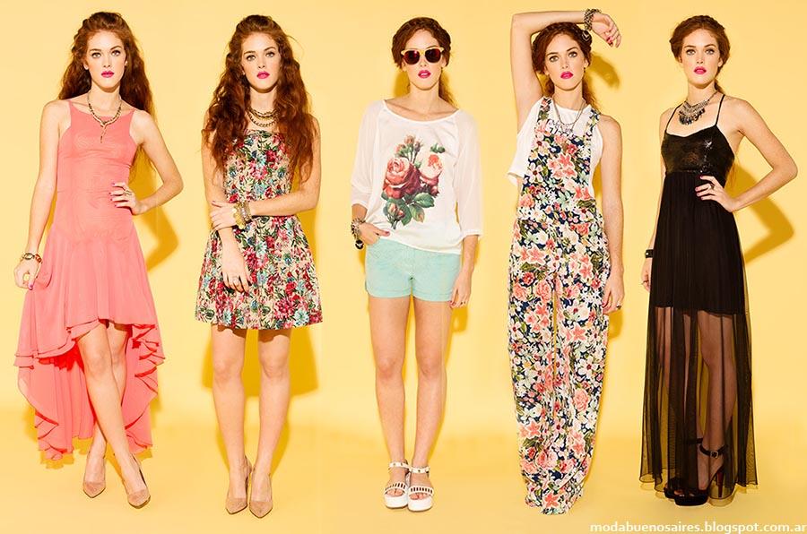 Moda verano 2015. Sans Doute ropa de mujer de moda primavera verano 2015.