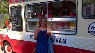 food truck, mangiare, Roma, itália,