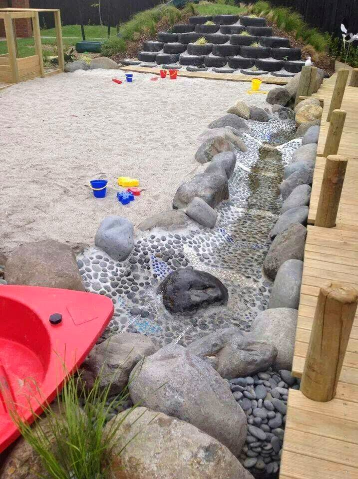 Let the children play just add sand - Natural playgrounds for children ...