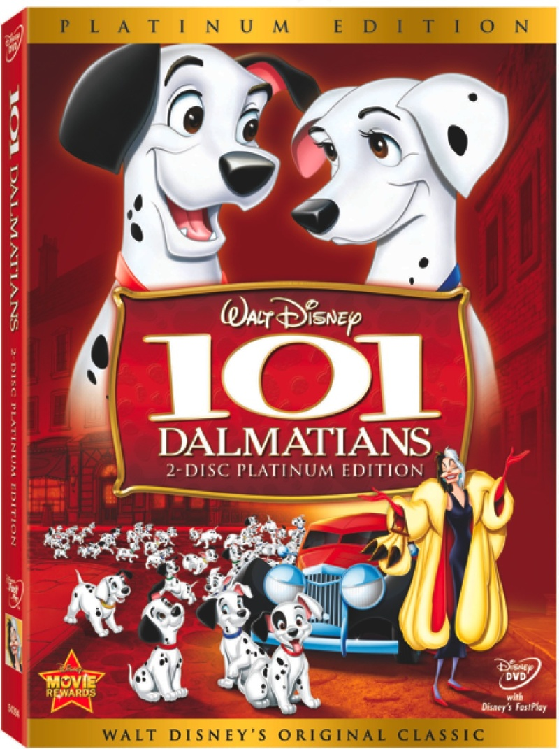 From The Archive 101 Dalmatian Platinum Edition Dvd Review