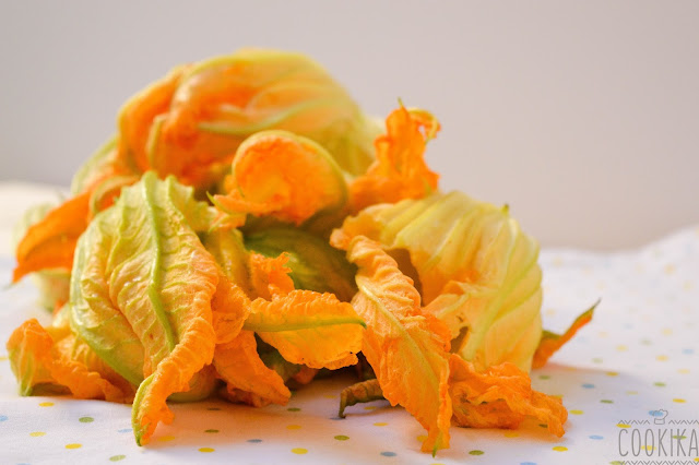 Zucchini Flower Frittata