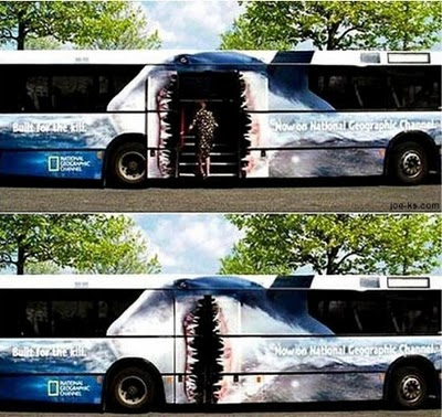 Amazing advertising on buses 07