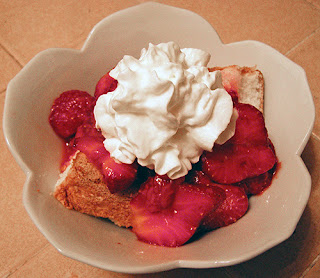 Bowl of Strawberry Shortcake