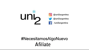 Uni2, #NecesitamosAlgoNuevo