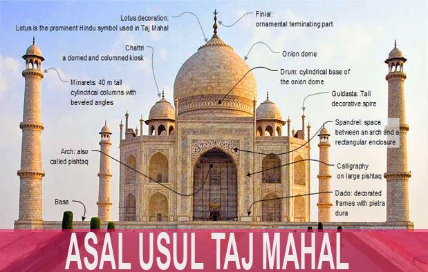 Asal Usul Taj Mahal