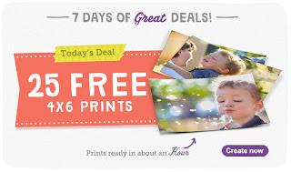 25 Free 4x6 Prints