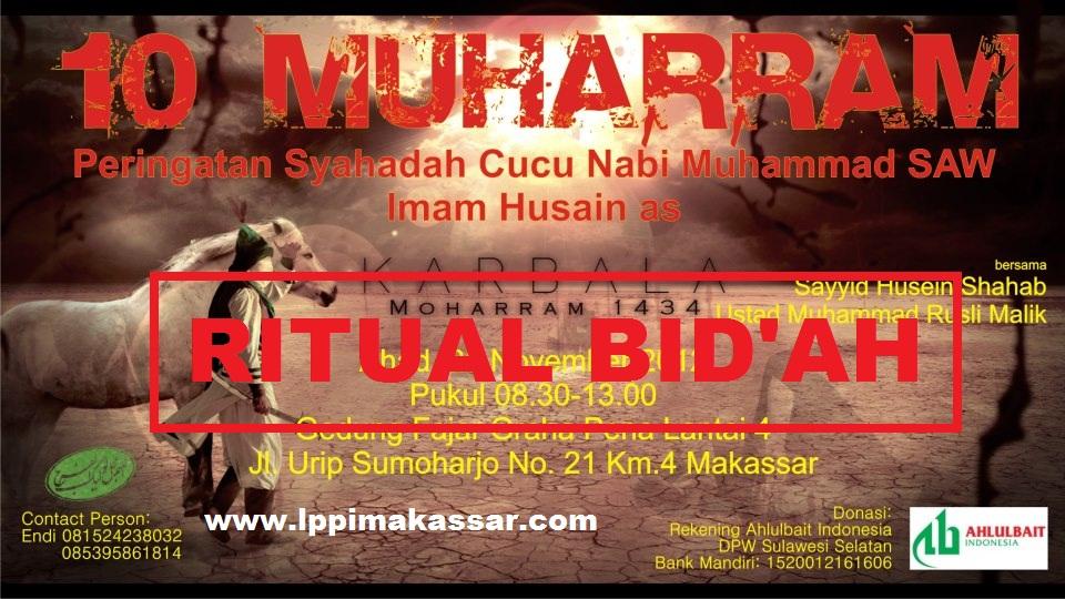 Perayaan Asyura Syiah di Jakarta, Balikpapan dan Makassar 1434 H