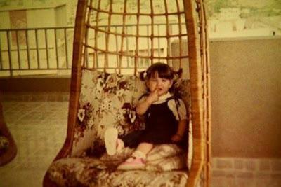 نانسي الصغيرة - نانسي وهي طفلة