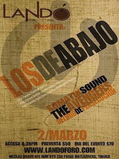 Los de Abajo en Toluca.
