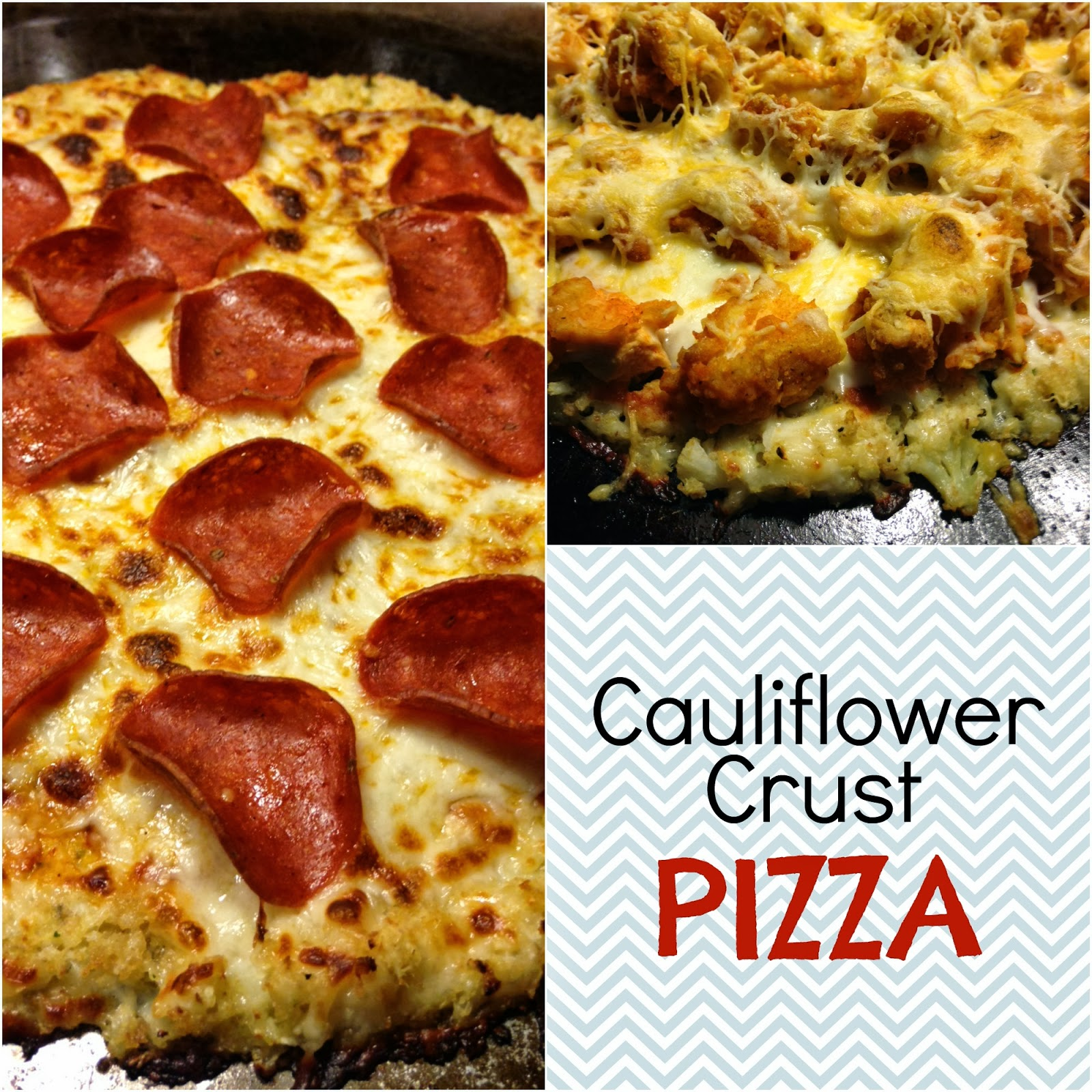 Easy [and Delicious] Cauliflower Crust Pizza