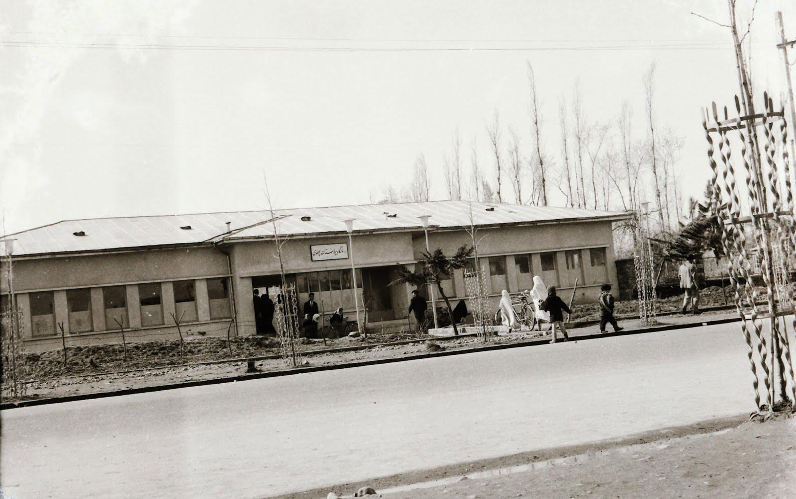 درمانگاه بیمارستان پهلوی لاهیجان