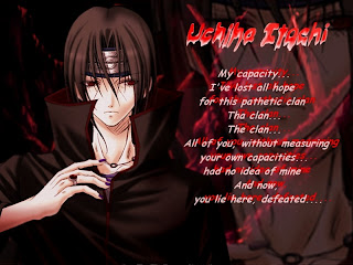 Quotes Itachi UchihaTerlengkap