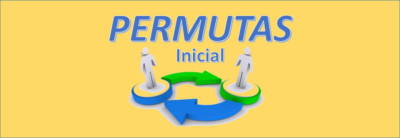 PERMUTAS 2016 - INICIAL