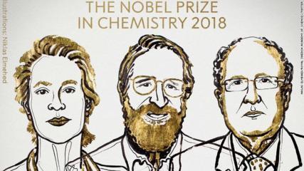 2018 Nobel Laureates in Chemistry:  Frances Arnold etc