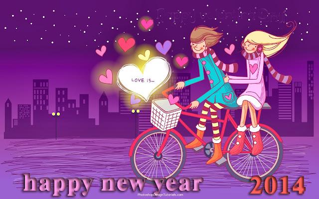 """Bộ sưu tập hình nền """"Happy New Year 2014"""""""