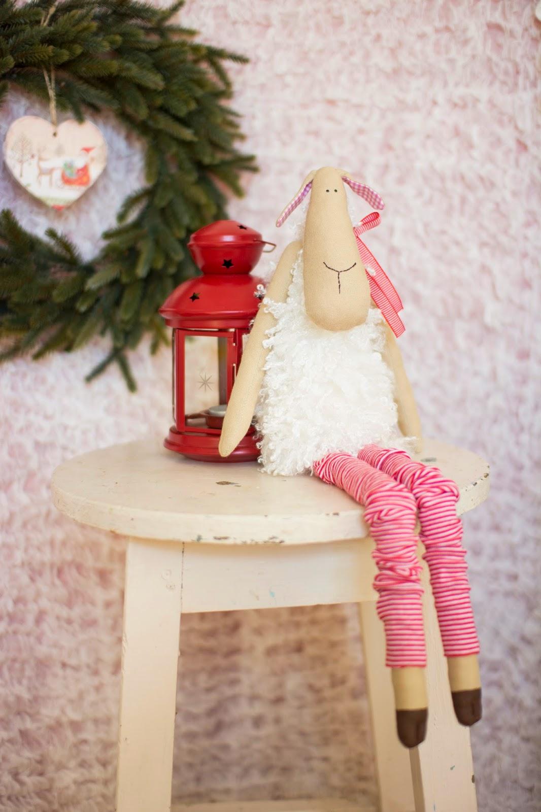 Год овцы, подарок на год овцы, интерьерная игрушка, Овечка в подарок
