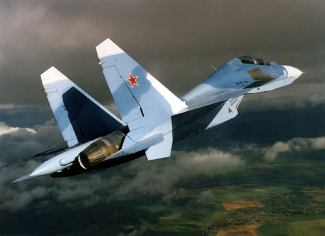 Su-30 Interceptor Fighter Aircraft