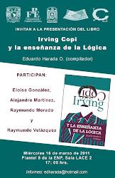 """Presentación del libro """"Irving Copi y la enseñanza de la Lógica"""""""