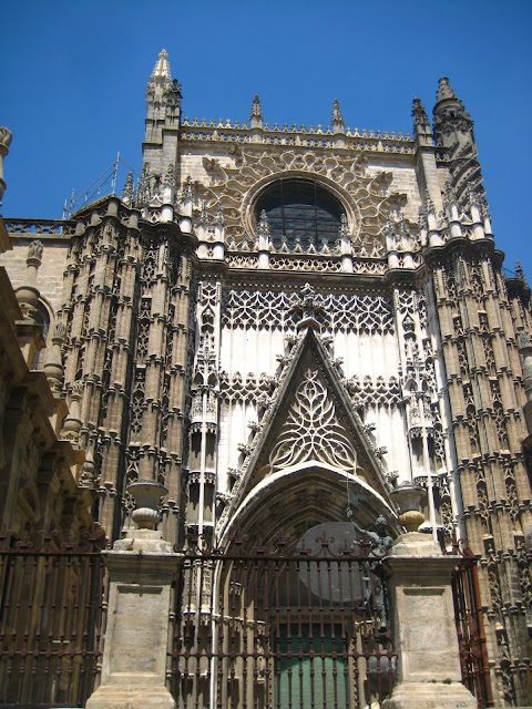 Seville Cathedral  in Seville, Spain.