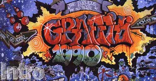 La palabra graffiti proviene del italiano, graffire, escribir
