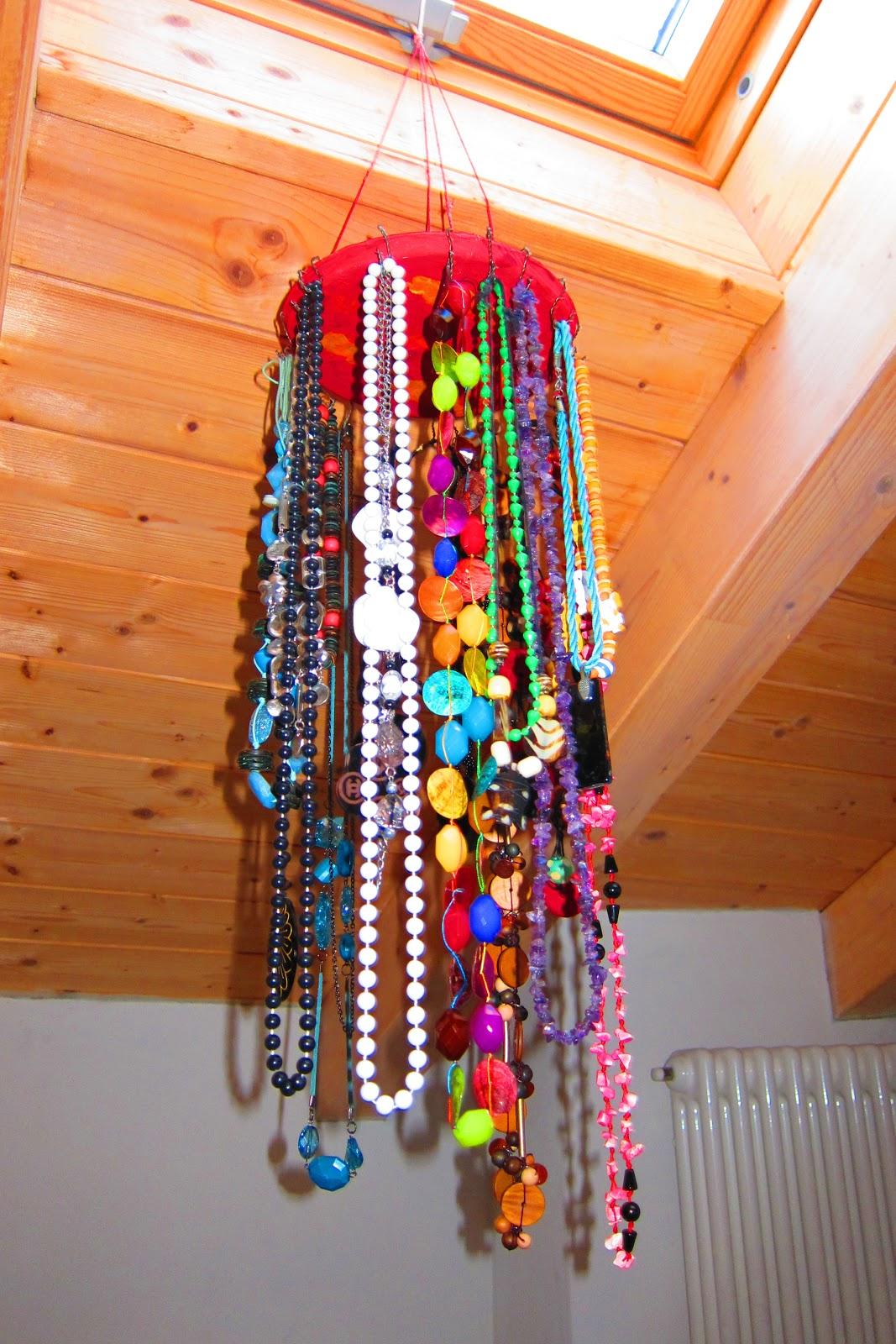 Suddito e carogna porta collane fatto in casa - Porta collane da armadio ...