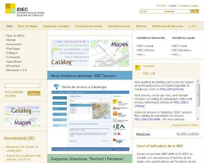 Geoportal IDEC