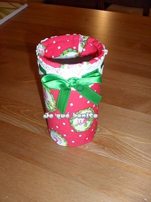 Portalápices reciclando una lata