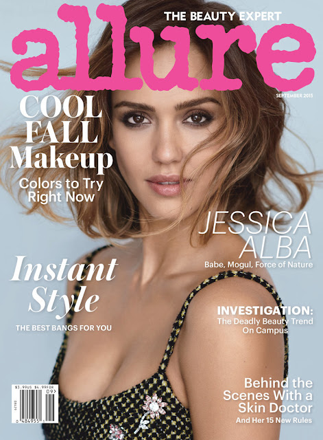 Allure September 2015 Jessica Alba