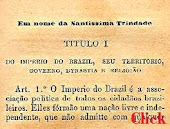 A primeira Constituio Brasileira: