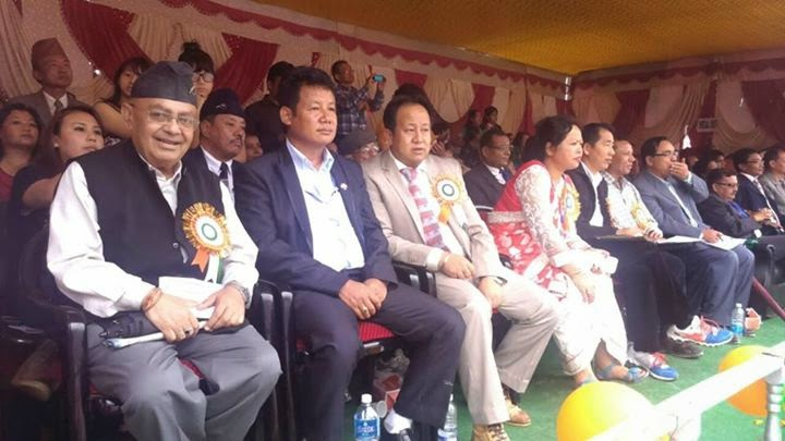 Independence day celebration at Monteviot Ground , Kurseong guests