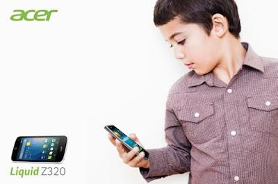 Fitur Kids Center Sempurnakan Acer Liquid Z320, Anak Senang, Orang Tua Tenang