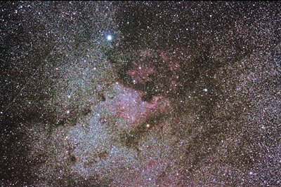 Cygnus and NGC7000  July 28, 2011