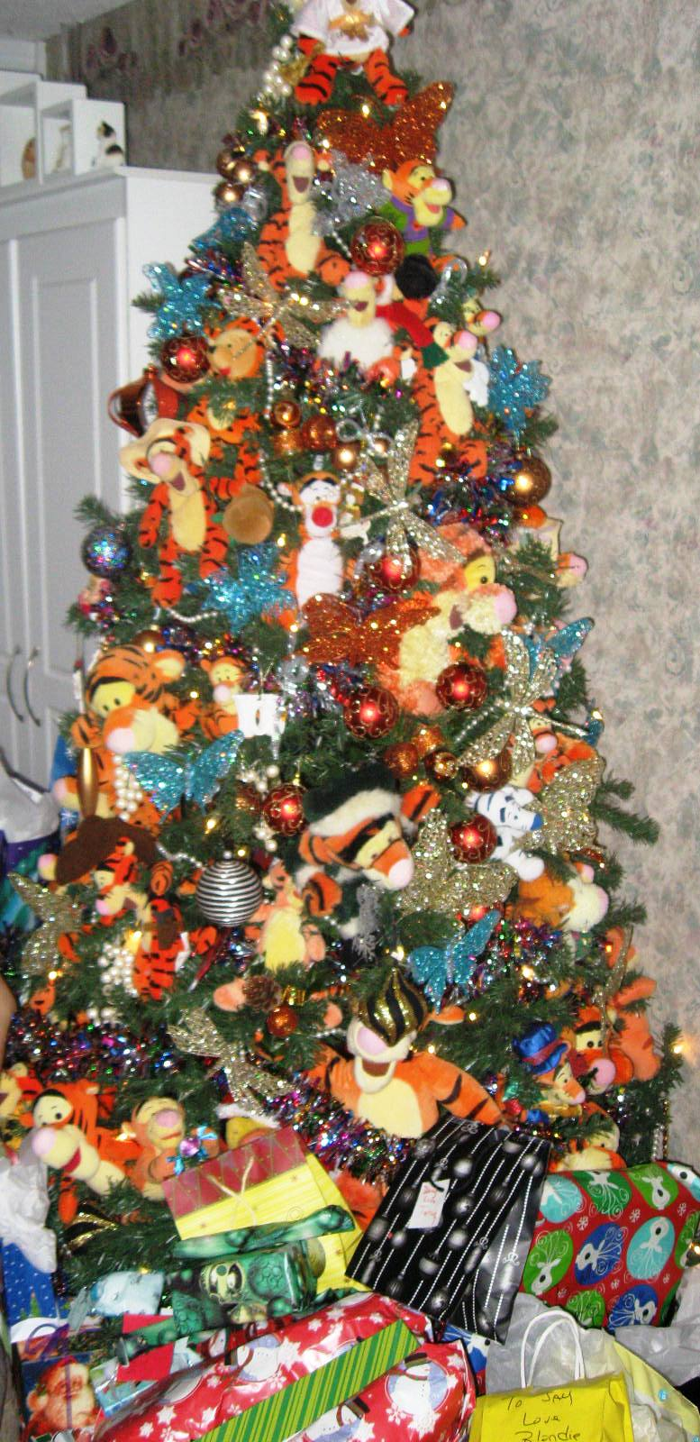Tigger Christmas-Tree. Photo by Carla 'Carley' Cooper. All copyrights reserved
