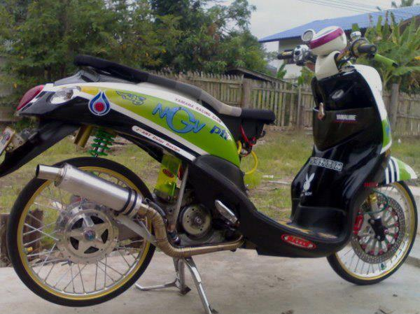 MODIFIKASI-YAMAHA MIO FINO MODIFIKASI title=